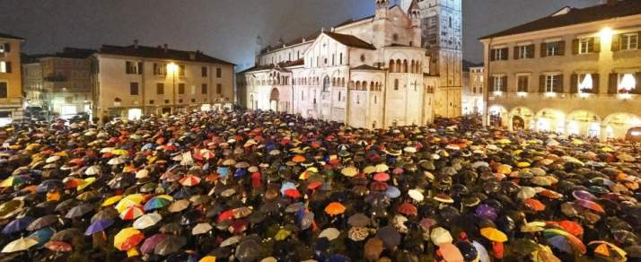 Piazza Mazzini a Modena